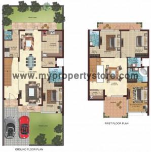 Mulberry Villa Option 3_Floor Plan in New Chandigarh