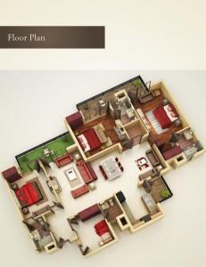 Taj Towers Floor Plan