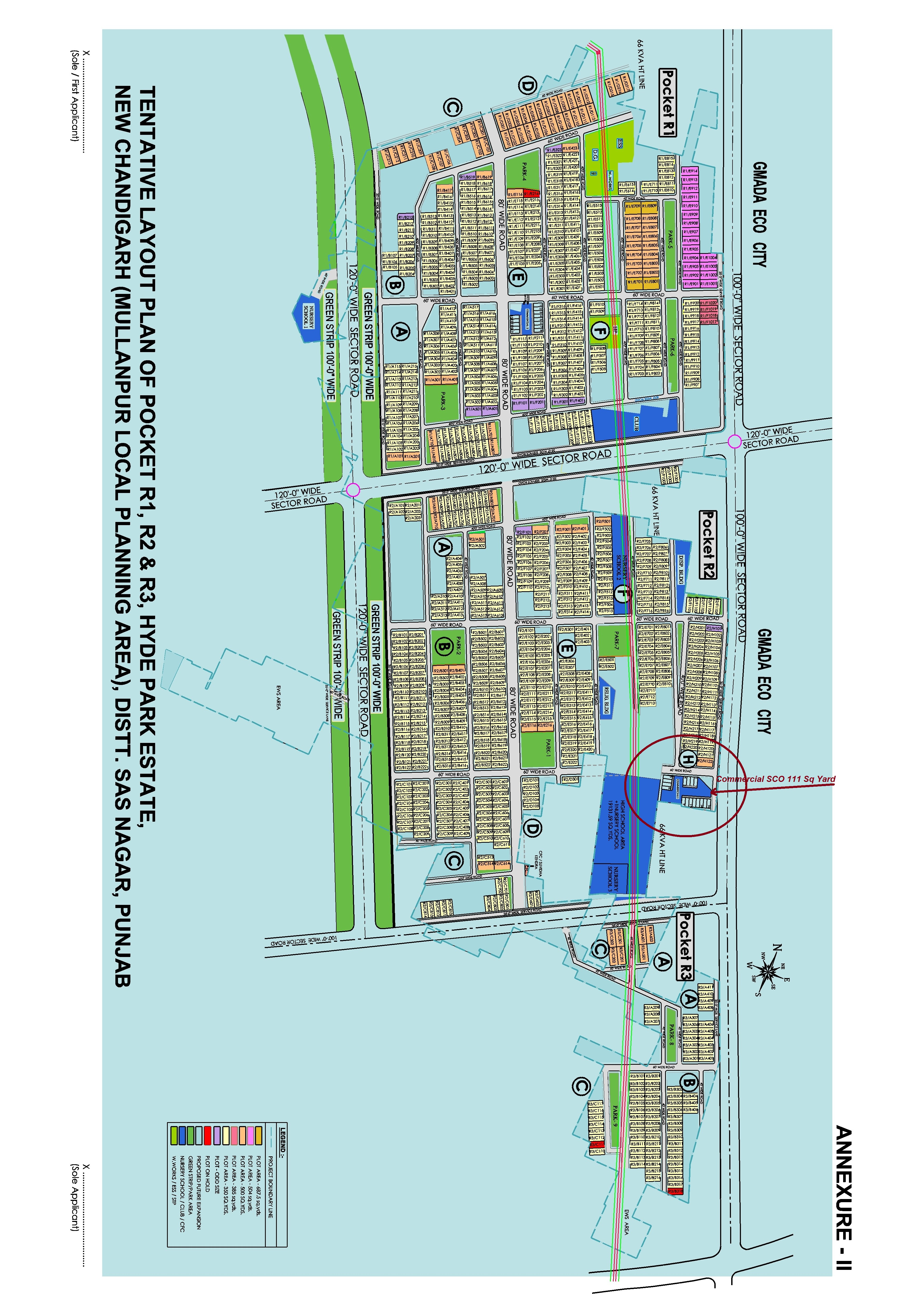 DLF Site Plan Mullanpur
