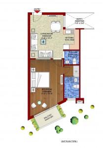 1BHK-studio-apartment-plan-sandwood-euphoria-kasauli.