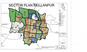 MULLANPUR SECTOR PLAN 300x179 Plots In ECO City New Chandigarh