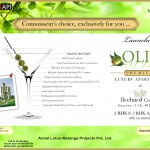 olive apartment 150x150 Olive Towers in Ansal Orchard County Sector 115 , Mohali