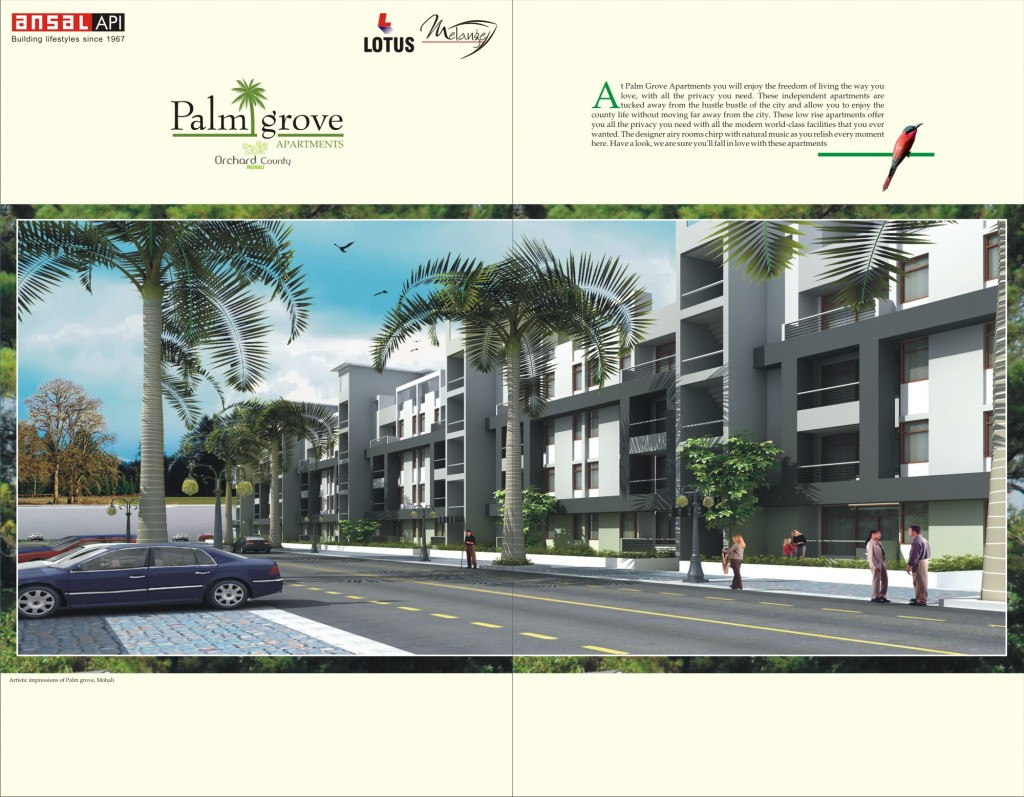 2 1024x797 Palm Grove Apartments by Ansal Lotus Mellange Projects Pvt Ltd at Sector 115 , Mohali