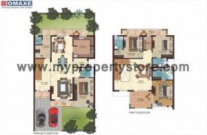 Mulberry Villa Option 1_Floor Plan in New Chandigarh