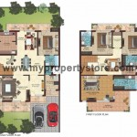 Mulberry Villa Option 2_Floor Plan in New Chandigarh