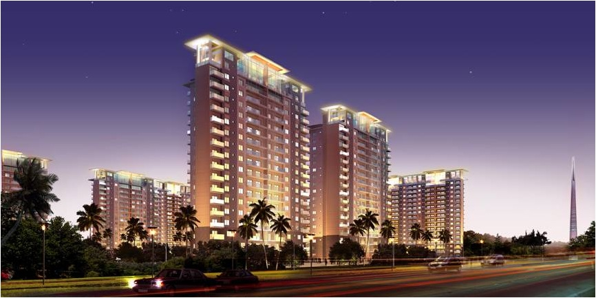 Wave Estate Wave Gardens Mohali1 Wave Gardens 2/3/4 BHK AC Apartments in Sector 85 Mohali