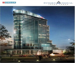Omaxe India Trade Tower in New Chandigarh
