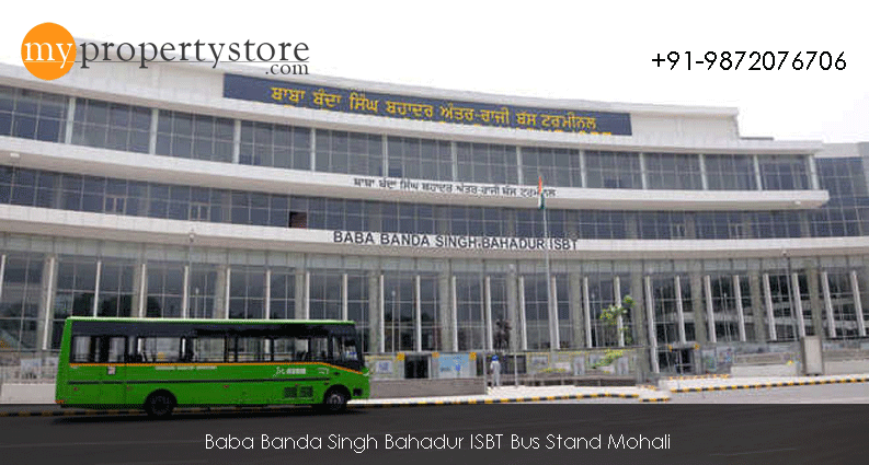 Mohali Bus Stand 3