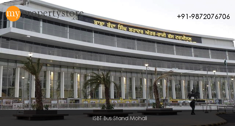 Mohali Bus Stand 4